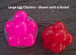 Large Salmon Egg Clusters - 10 Pack