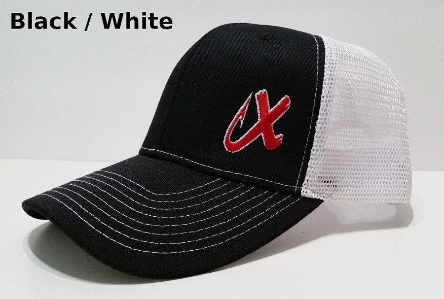 Trucker Style Hats (Red X on front)